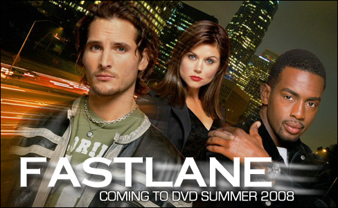 Peter Facinelli and Tiffani Thiessen in Fastlane